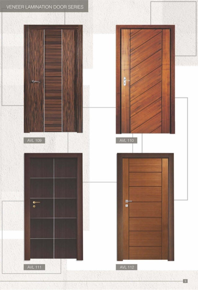 VENEER LAMINATION DOOR SERIES I I AVL109 i i  Aviva catalogue pdf. Wooden Door Frame Designs Pdf   thegibbonsschool com