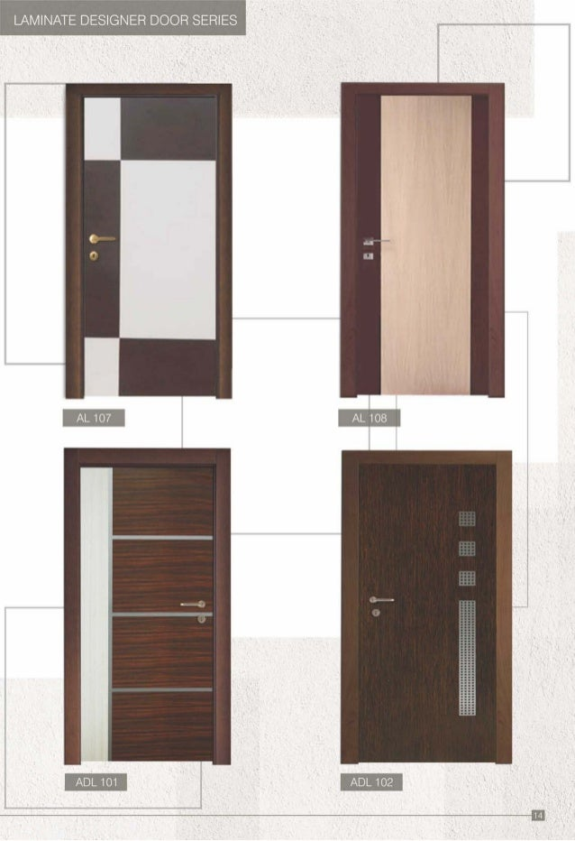 LAMINATE DESIGNER DOOR SERIES AL 107 AL 108. Aviva catalogue pdf
