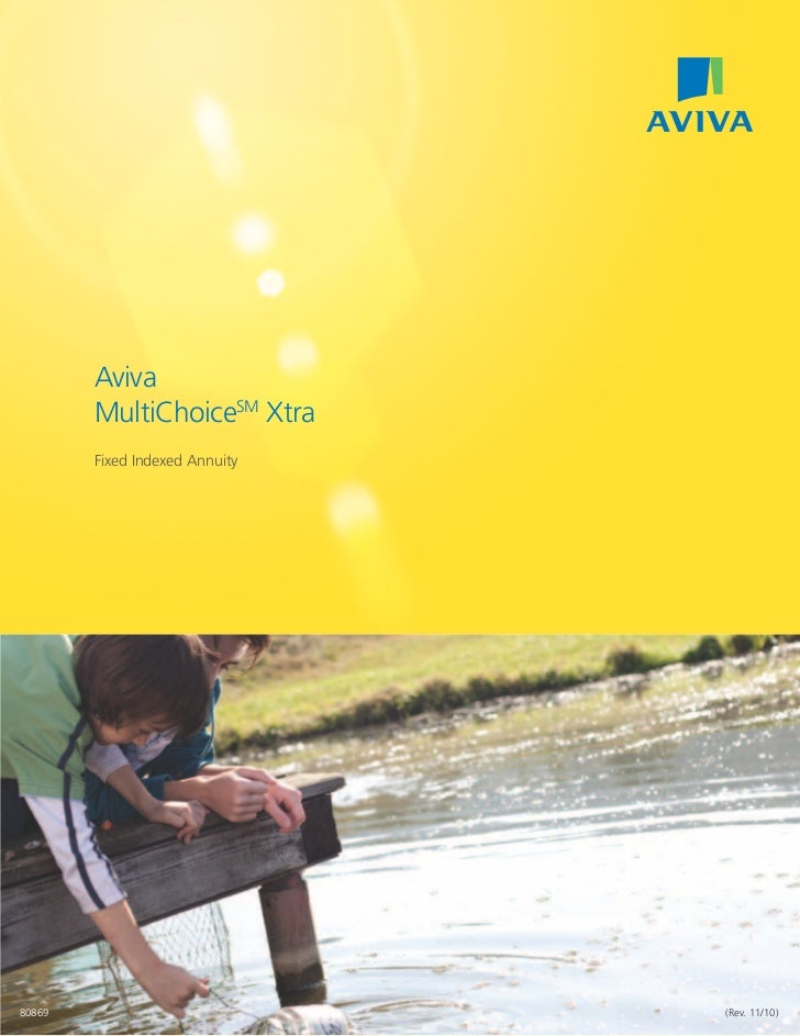 Aviva        MultiChoiceSM Xtra        Fixed Indexed Annuity80869                           (Rev. 11/10)