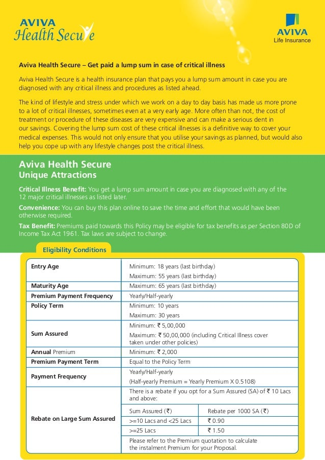 aviva life insurance report