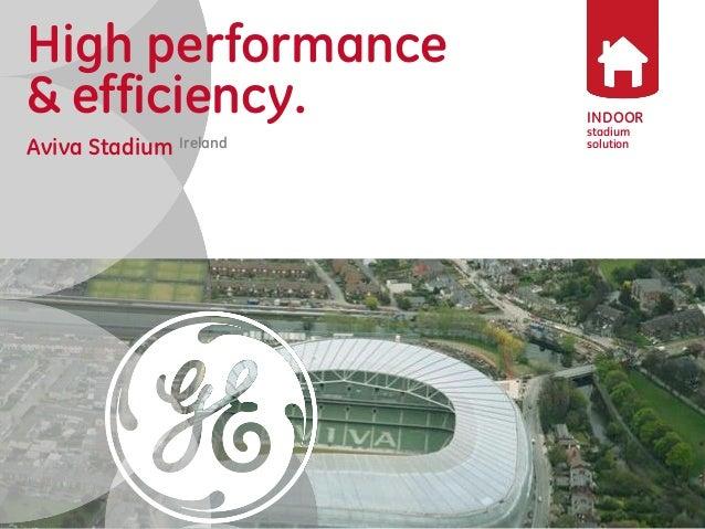 versatility  & reliability  Reference Project  Indoor Lighting  Aviva Stadium DublinIreland  INDOOR  stadium  solution  Hi...
