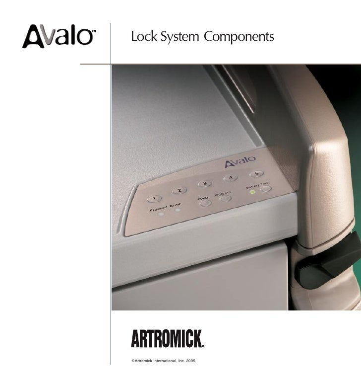 Lock System Components     ©Artromick International, Inc. 2005