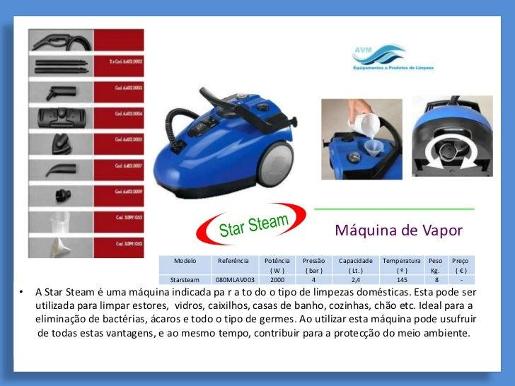 Máquina de Vapor                                  Modelo     Referência   Potência   Pressão    Capacidade   Temperatura  ...