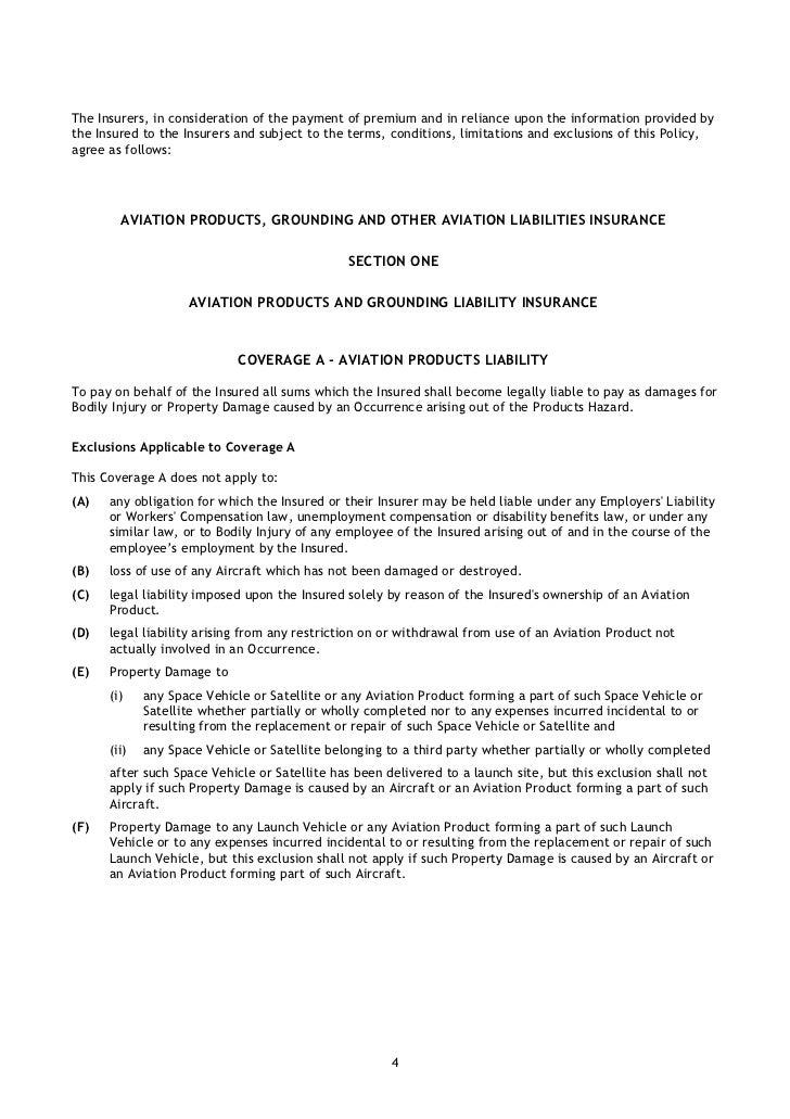 Avn  Aviation Products Grounding And Other Aviation Liabilities Ins
