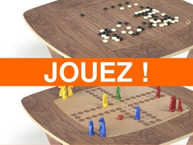 Design mobilier : Table Avo'jeux pour L'Edito | © Agence Ova Design – Paris & Montpellier | www.ovadesign.com JOUEZ !