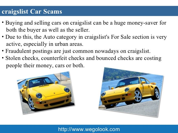 <ul><li>Apartment Rental scams on Craigslist are targeted at those people </li></ul><ul><li>looking for a deal and a new h...