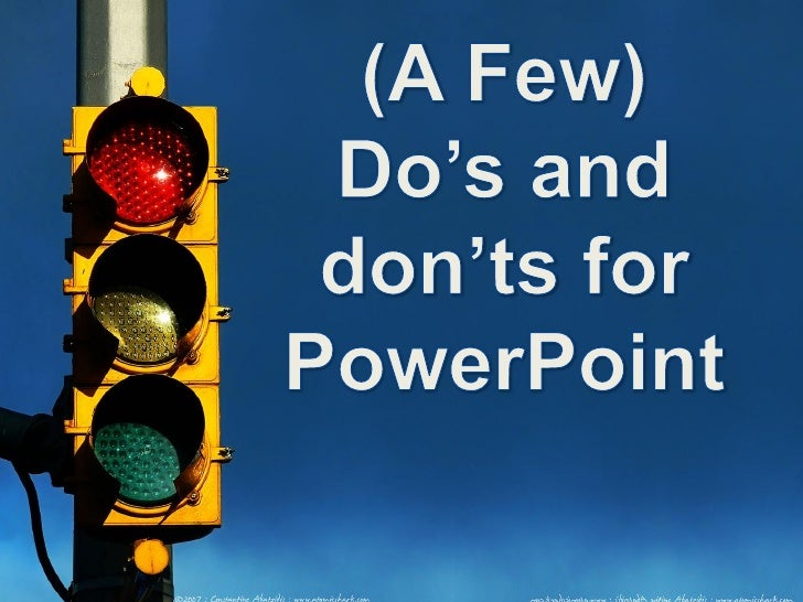 how to avoid death by powerpoint video