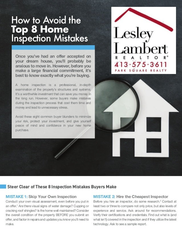 Home Examination for Home Buyers Prior to Submitting An Offer!