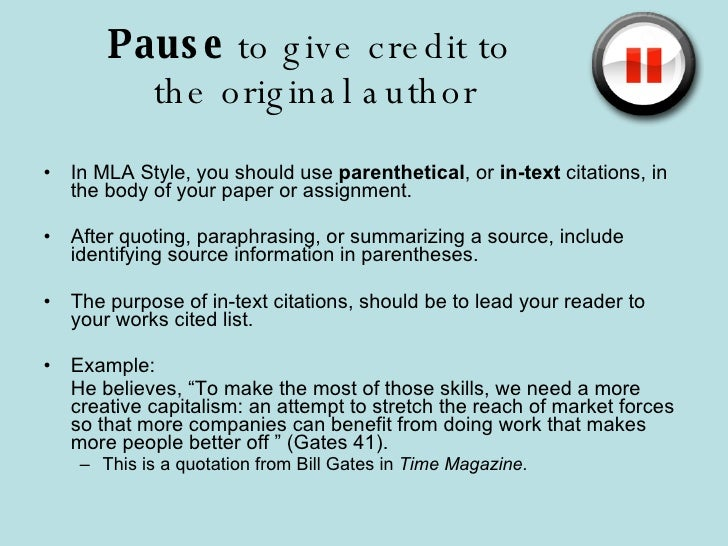 paraphrasing in research paper mla Your research paper while you might conduct some primary research, it's a  paraphrasing in mla style in this example, the writer is using mla style to write a.