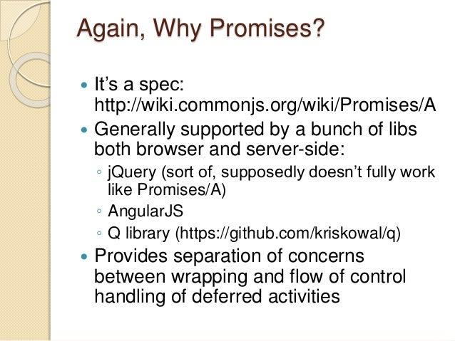 Avoiding callback hell in Node js using promises