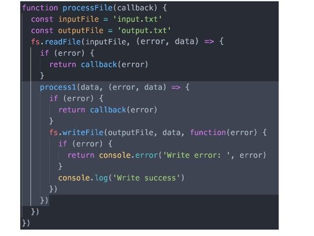 Async JavaScript: From Callbacks, to Promises, to Async/Await