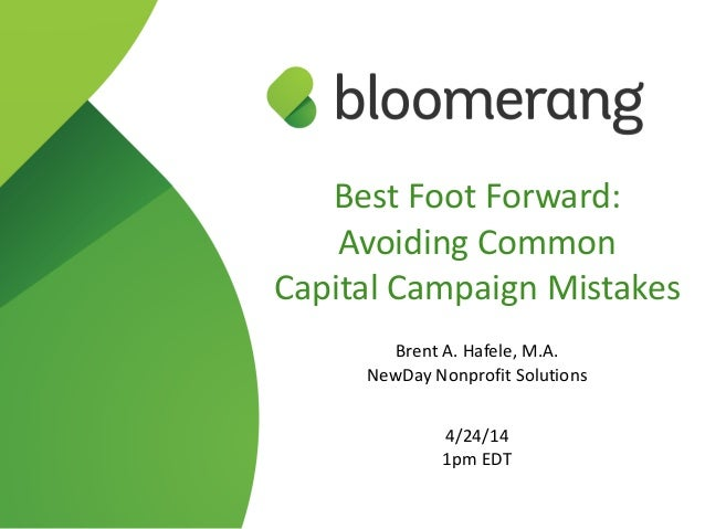 Best  Foot  Forward: