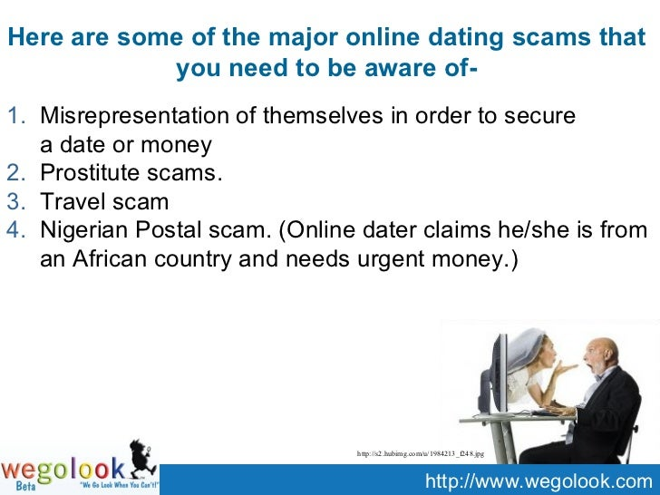 Online christian dating scams