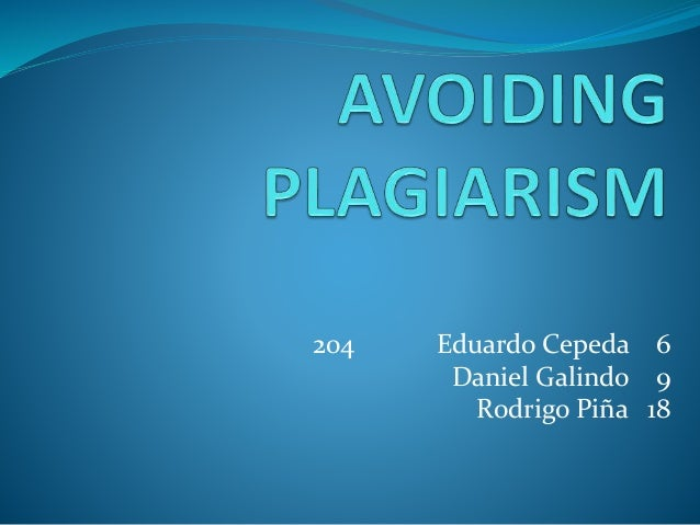 how to improve writing to avoid plagiarism Taking careful notes is simply the best way to avoid plagiarism  taking will improve your analysis of the  to-writing-academic-prose/plagiarism.