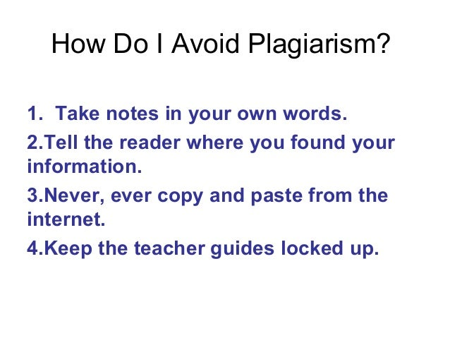 avoiding plagarism Learning the ins-and-outs of properly citing sources can be confusing, but is extremely important in protecting you from plagiarism while there isn't usually a formalized lesson on writing academically and citing your sources, this will be expected starting with your first-year writing courses.