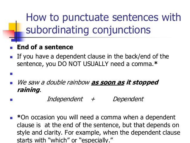 Avoiding Run Ons Comma Splices