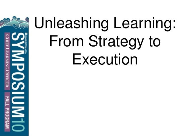 Unleashing Learning: From Strategy to Execution