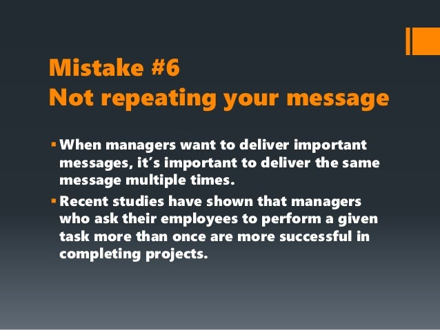 Avoid these 10 mistakes in your internal communications strategy