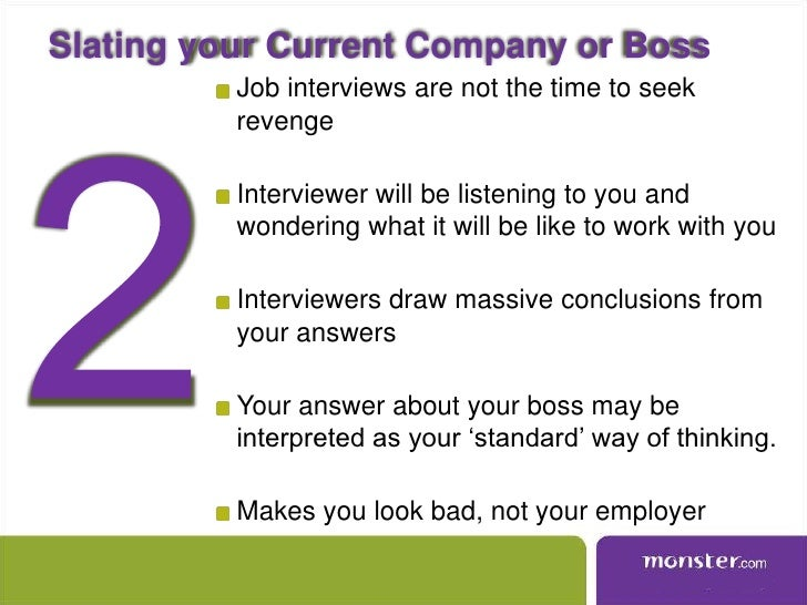 Avoid top 10 interview mistakes