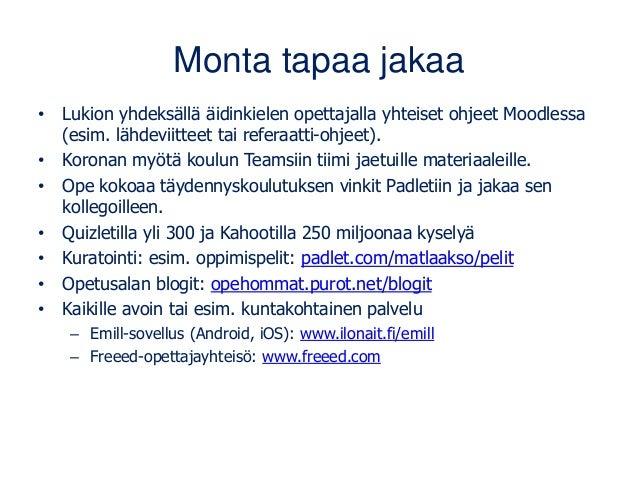 Avoimen jakamisen hyödyt ja käytännöt 29.4.21