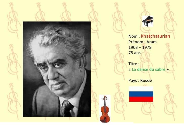 Aram Khatchaturian Aram Khachaturian - Alois Klíma - Concerto For Piano And Orchestra