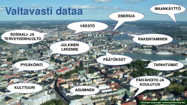 Helsingin kaupungin aineistopankki/SkyFoto SOSIAALI- JA TERVEYDENHUOLTO PYSÄKÖINTI VÄESTÖ PÄÄTÖKSET PÄIVÄHOITO JA KOULUTUS...