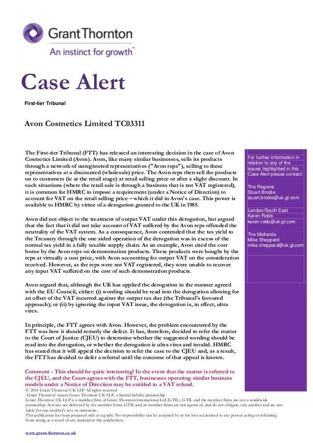 Avon Products Harvard Case Solution & Analysis