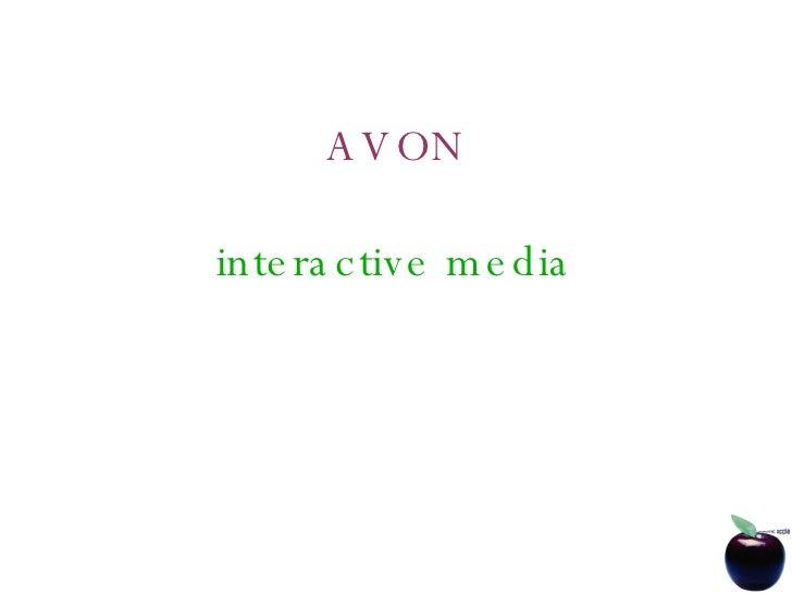 AVON interactive media