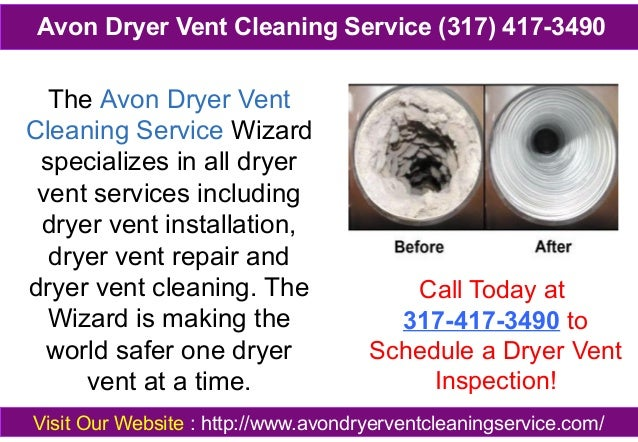 The Avon Dryer Vent Cleaning Service Wizard specializes in all dryer vent services including dryer vent installation, drye...
