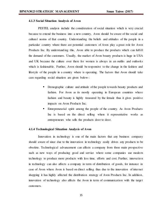 Case Study About AVON by maureen kottie on Prezi