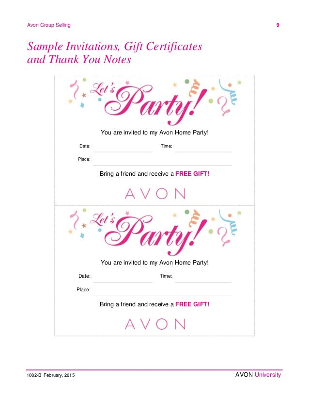 Avon gift certificates templates free gallery template for Avon gift certificates templates free