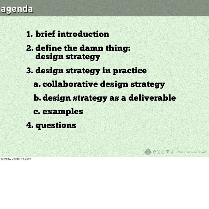 Design Strategy: Aligning Business Goals and User Needs Slide 2