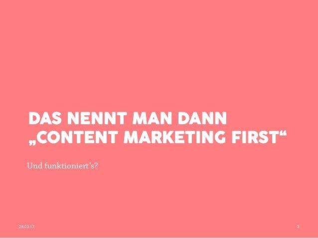 Content Marketing = Problemloesung Slide 3
