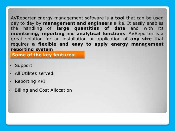 AVReporter (PEM Energy Analyzer) in practice Slide 3