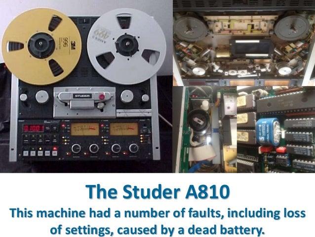 AV Resilience Open-reel Tape Recorder Repair & Line up