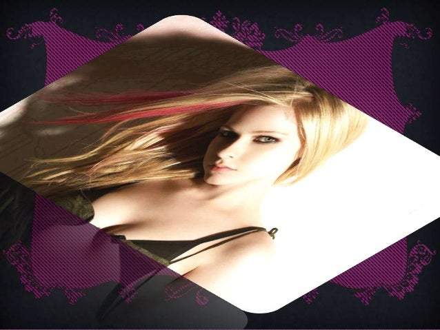 Avril lavigne Slide 2