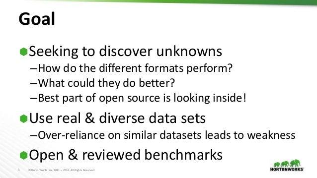 File Format Benchmarks - Avro, JSON, ORC, & Parquet Slide 3