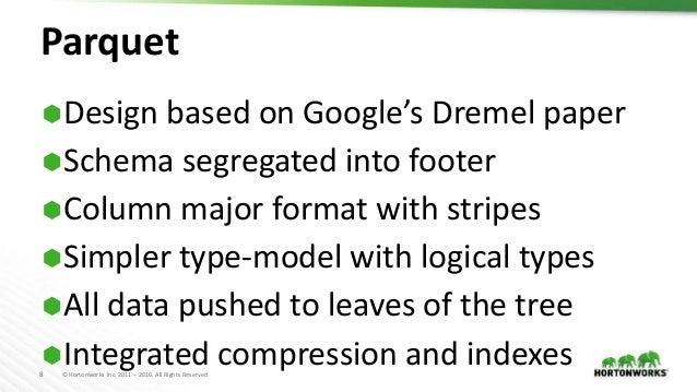 File Format Benchmarks - Avro, JSON, ORC, & Parquet