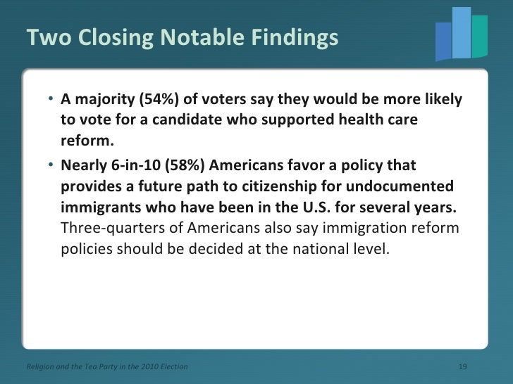 Two Closing Notable Findings <ul><li>A majority (54%) of voters say they would be more likely to vote for a candidate who ...