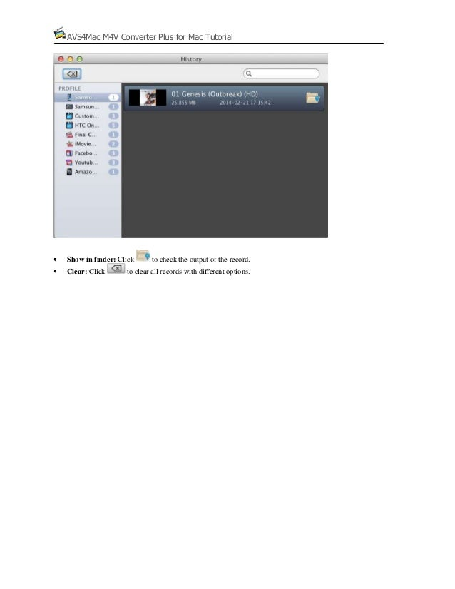 Remove DRM with AVS4Mac iTunes DRM Media Converter for Mac