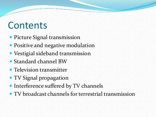 Television Signal Transmission & Propagation Slide 2