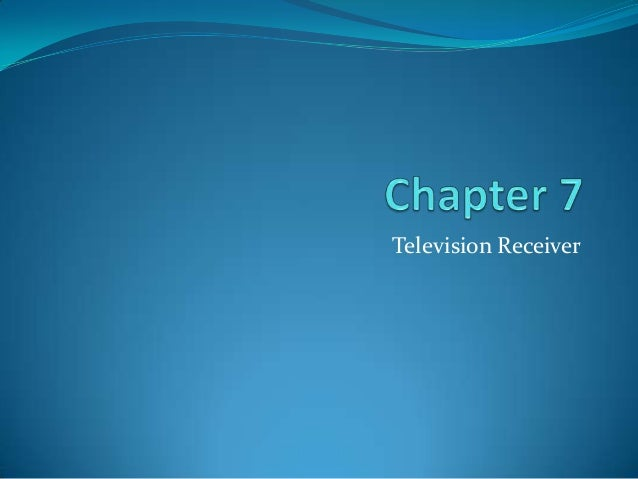 Television Receiver