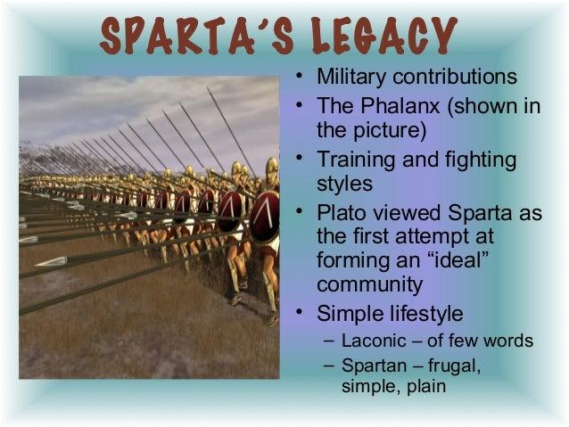 sparta contributions