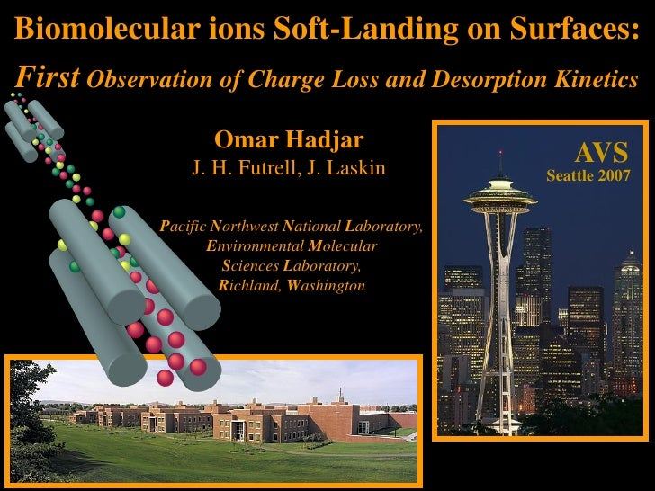 Biomolecular ions Soft-Landing on Surfaces: First Observation of Charge Loss and Desorption Kinetics                     O...
