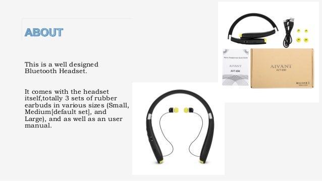 2017 trendy foldable neckband bluetooth headphone long lasting batte. Black Bedroom Furniture Sets. Home Design Ideas