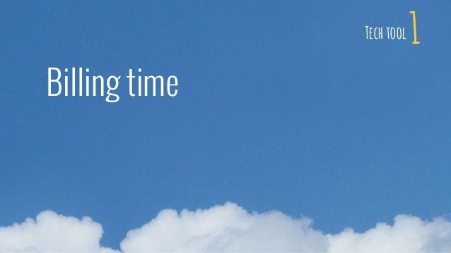 1 Billing time Tech tool