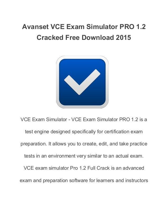 Vce player crack | VCE Exam Simulator 2 4 2 Crack + Full