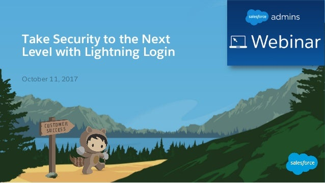 Take Security to the Next Level with Lightning Login ​ October 11, 2017