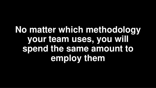 Customer collaboration over contract negotiation 1. Transparency is essential 2. The team is upfront about their limitatio...