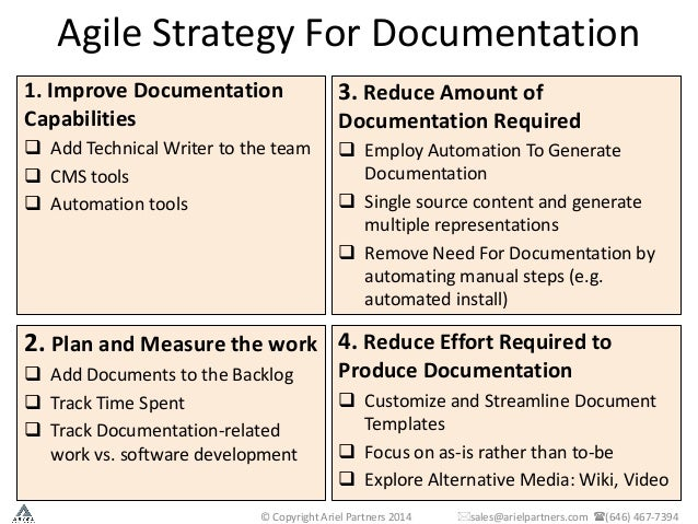 agile software requirements template - meeting strict documentation requirements in agile